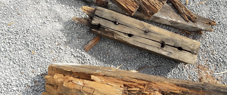 Renovatie houtrot