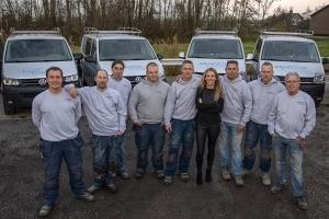 Het vakkundige team van W. Pothuizen Bouw BV